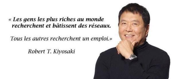 R. Kyosaky - Les Riches bâtissent des réseaux !